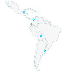Mapa Sudamérica